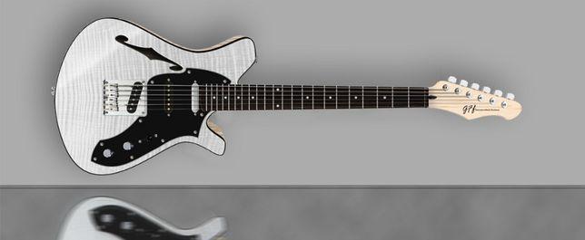 Gitara elektryczna GFF Stellar Semi-hollow AW GFF Handcrafted Guitars