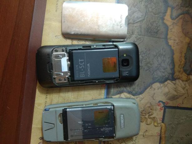 Telefon NOKIA + bateria uszkodzony