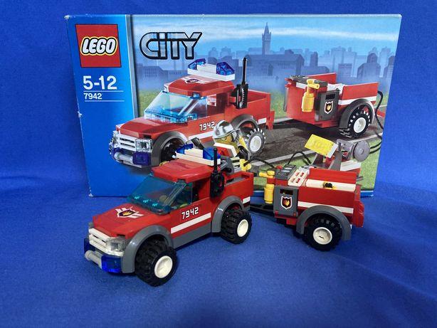 LEGO CITY 7942 Terenowa Ekipa Ratunkowa 100% kompletny
