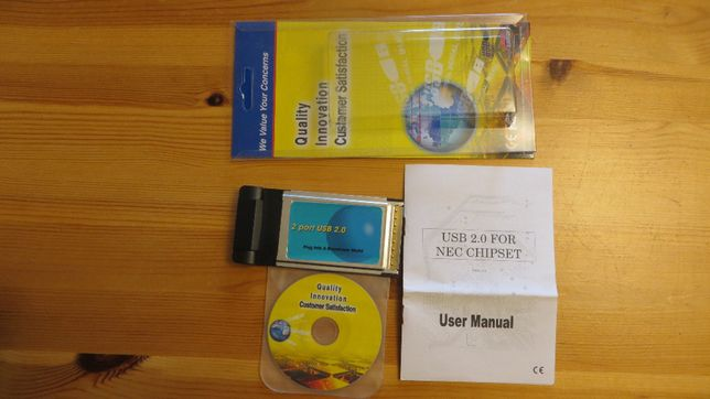PCMCIA Adapter CardBus > 2x USB 2.0