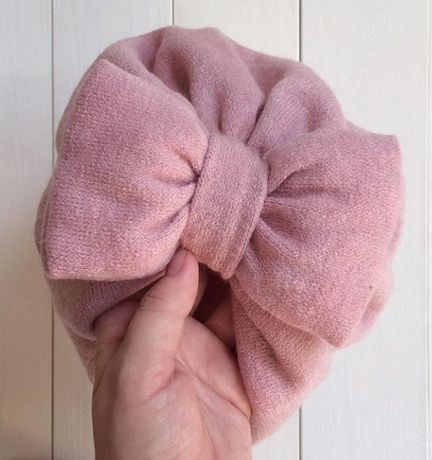 Тёплая шапочка на флисе на 4-5 мес