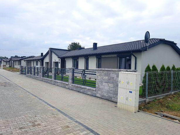 Nowy dom parterowy z działką w cenie mieszkanie Bełchatów Ławy okazja