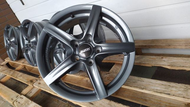 Felgi aluminiowe ALUTEC 16'' 5x112 ET42 AUDI SEAT SKODA VW