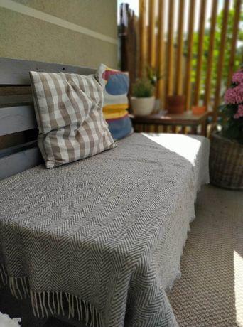 Sofa z palet na taras 2 sztuki