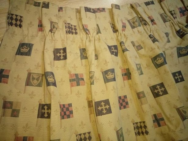 Короткие плотные шторы БЛЭКАУТ