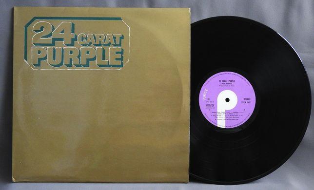 DEEP PURPLE 24 CARAT PURPLE LP Британская пластинка 1975 UK оригинал