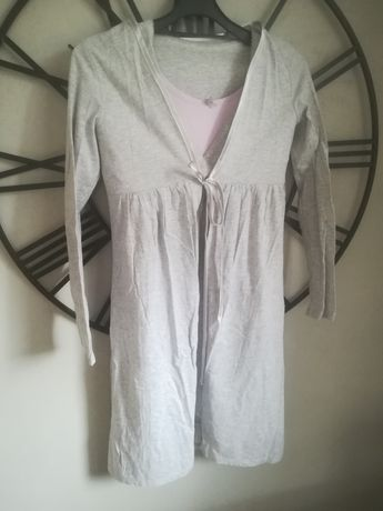 Koszula szlafrok piżama ciążowa do szpitala i karmienia