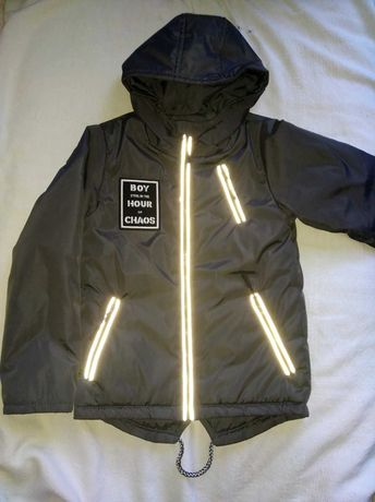 Куртка осенняя на мальчика 122см