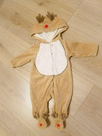 Детский, грудничковый комбинезон новогодний, праздничный