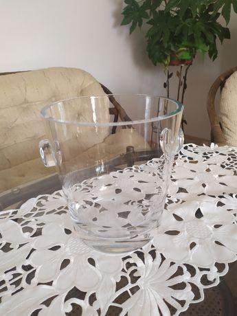 Cooler pojemnik na lód, wino, szampana, alkohol  szklany