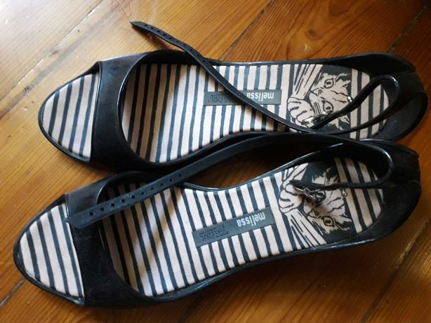 Sandálias de plastico Melissa 37