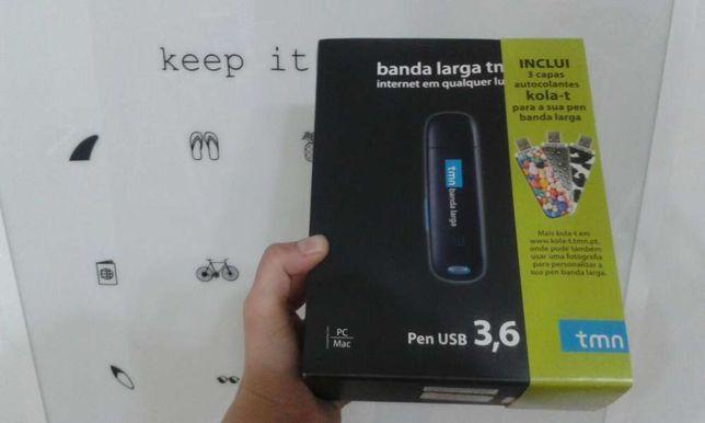 Banda larga móvel pen USB meo