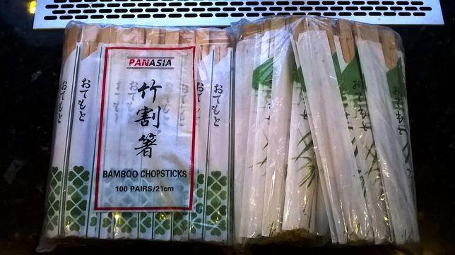 pałki pałeczki do sushi 2 komplety 200szt panasia