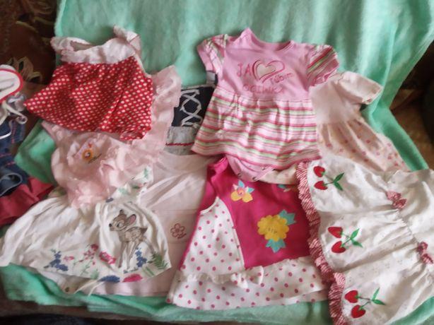 Комплект одежды на малышку от 3мес