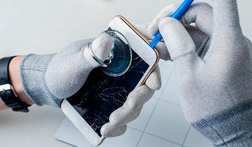 Расклейка дисплея. Замена стекла Meizu, Xiaomi, Samsung, iPhone