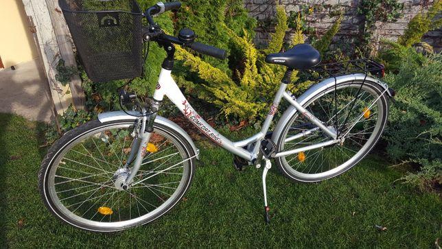 Rower damski Comfort BIKE 28 cal kołach 5 biegów osprzęt Nexus aul