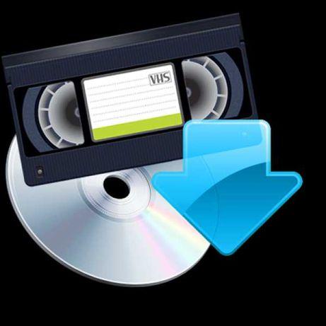 Conversão de Cassetes VHS p/ formato digital