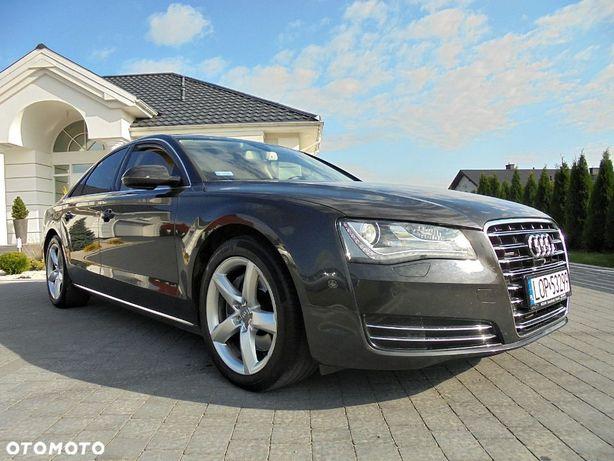 Audi A8 Serwis Audi*100% Bezwypadkowy*Nie malowany*Ideał*Jasne skóry*Piękny*