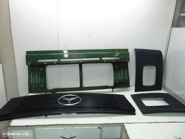 Mercedes o309 furgão frente de chapa e grelhas