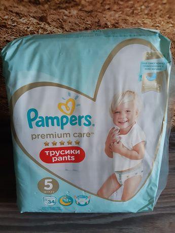 Памперс Pampers premium care pants 5
