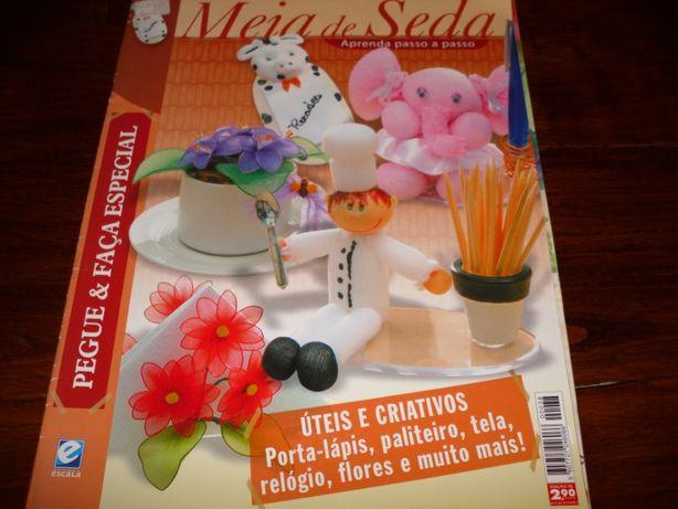 Revista da técnica meia de seda