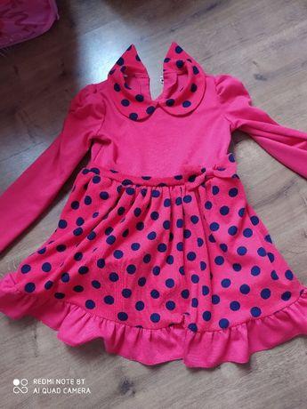 Платье Леди Баг 4-5 лет