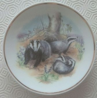 Prato Decorativo 'Wildlife of Britain' - C/ CAIXA