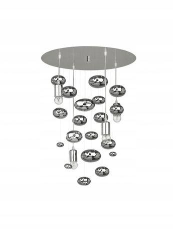 Chromowana lampa wisząca SALVA G NOWODVORSKI kulki 50 cm 70 cm