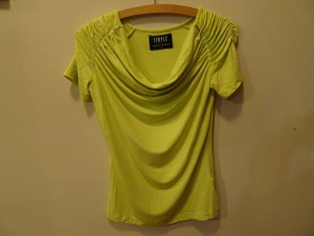SIMPLE bluzka damska rozmiar S NEON rozmiar 36