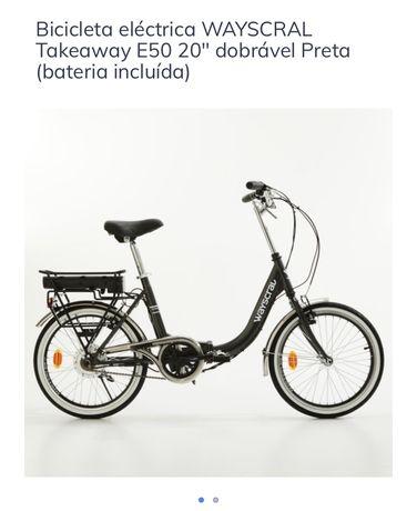 """Bicicleta eléctrica - Nova wayscral E50 20"""""""