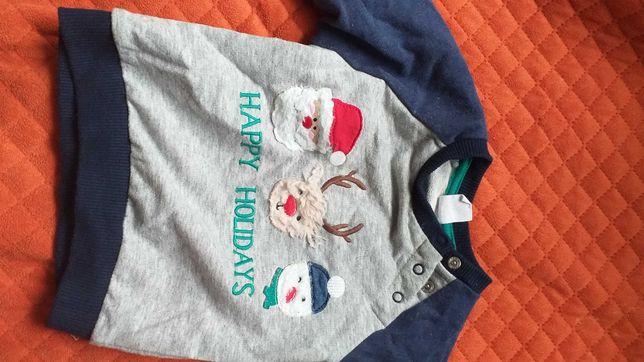 bluza świąteczna rozmiar 62