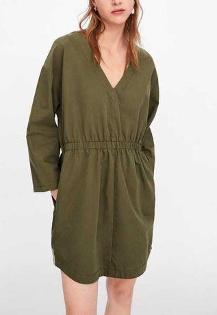 Vestido/Tunica Verde Zara *** NOVO C/ ETIQUETA *** S