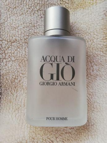 Butelka po acqua di gio 100 ml, giorgio armani pour homme, aqua di gio