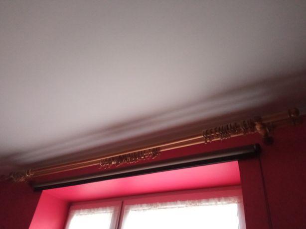 Karnisz drewniany podwójny szer. 230cm