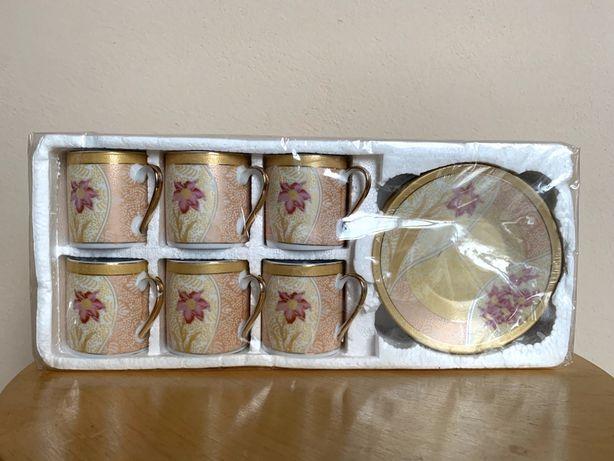 Чайний кавовий набір на 6 осіб