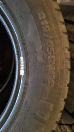 Opony Michelin Agilis rozmiar 215/65/16C 5/6mm