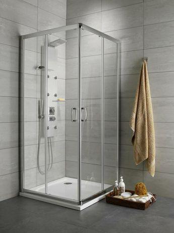 Kabina prysznicowa Radaway plus D,prostokątna,drzwi przesuwne 100/90cm