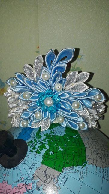 Новогодняя корона и украшения