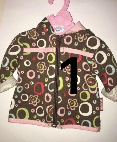 Оригинальная курточка подходит для кукол Baby Born