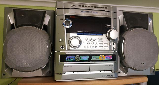 Музыкальный центр LG, микрофон, диск. каталог + подарок