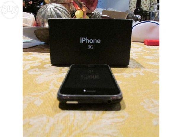 Iphone 3G + capas - BATERIA NOVA - desbloqueado