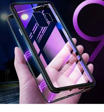 Магнитный чехол для Samsung Galaxy S8/S8+/S9/Note9 В ПОДАРОК ПЛЕНКА