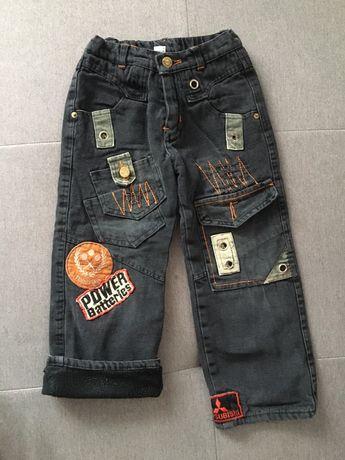 Утеплені штани на хлопчика/утепленные брюки. На 4-5 років.