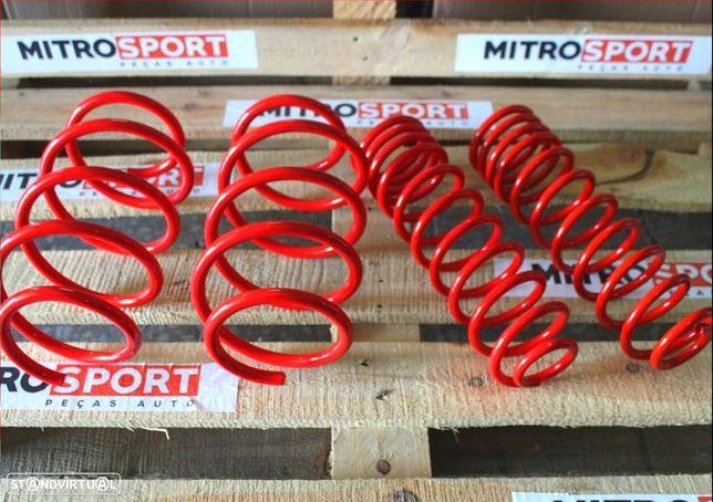 Molas de rebaixamento Peugeot 206   Mitrosport