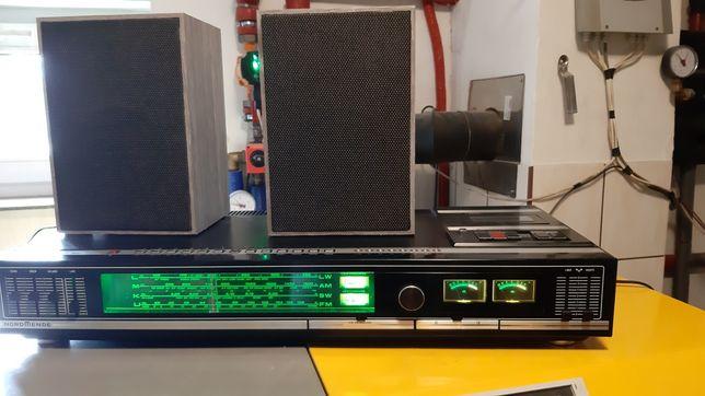 Vintage, Nordmende stereo 7020 sc i kolumny nordmende din 45500
