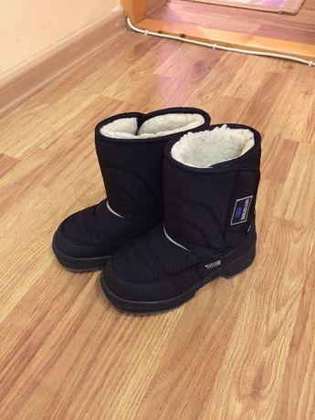 Зимние термо ботинки (сапожки) на мальчика .