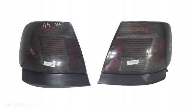 AUDI A4 B5 LAMPY TYŁ CIEMNE DYMIONE SEDAN