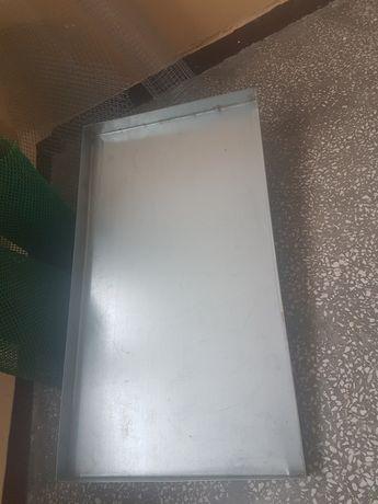 Metalowa szuflada szuflady kuweta do klatki klatek ptaków metalowa
