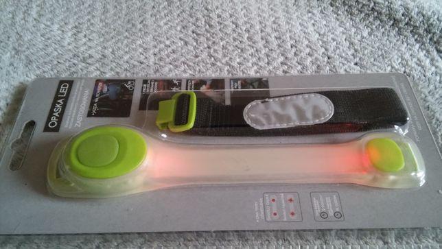 Opaska LED do biegania, jazdy na rowerze czy piesze wycieczki - NOWA
