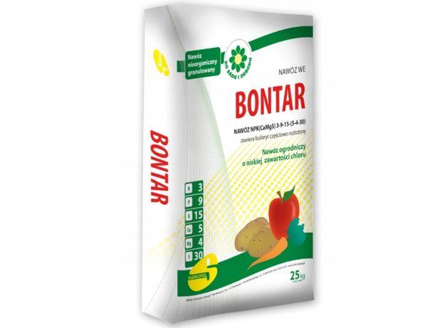Nawóz BONTAR 25kg - uniwersalny, bezchlorkowy, pod owoce i warzywa